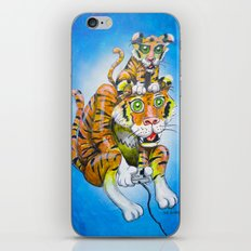 Harbaugh's Tiger & Cub iPhone & iPod Skin