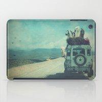 NEVER STOP EXPLORING II iPad Case