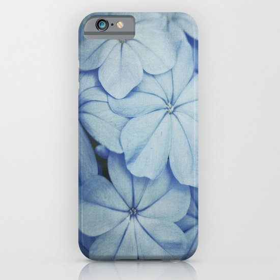 Blue Plumbago iPhone & iPod Case