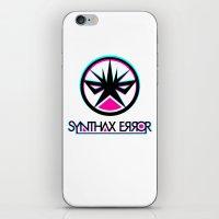 Synthax Error iPhone & iPod Skin
