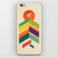 Lingering Mountains iPhone & iPod Skin