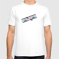 Aeroplano Mens Fitted Tee White SMALL