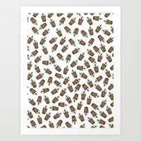 Bev Fresh Pattern Art Print