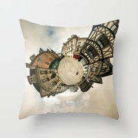 Worlds - Auxerre, France Throw Pillow