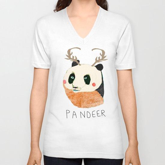 PANDEER :D V-neck T-shirt