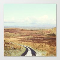 The Road Canvas Print
