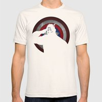 SuperHeroes Shadows : Ca… Mens Fitted Tee Natural SMALL