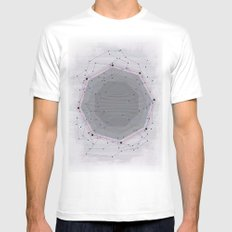 CYBERDOT SMALL Mens Fitted Tee White