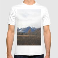 Turnagain Pass Mens Fitted Tee White SMALL