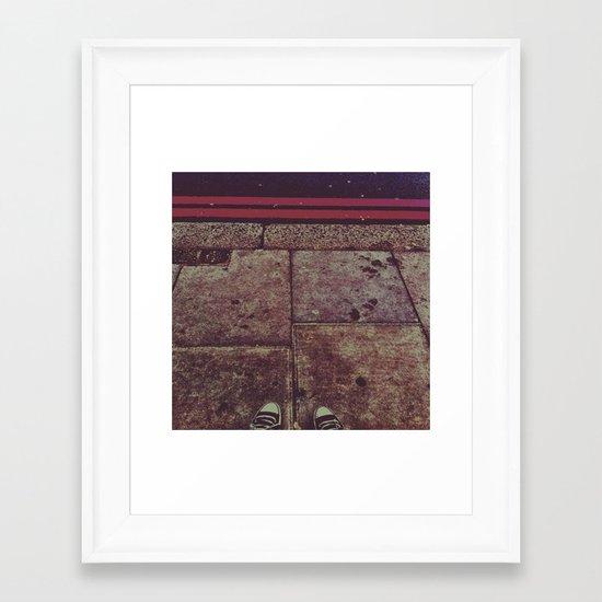 Peakaboo Framed Art Print