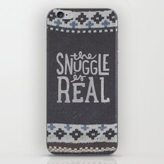 the snuggle is real iPhone & iPod Skin