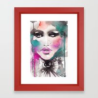 Love Color Framed Art Print