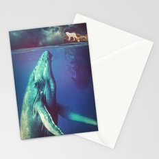 The Whale and the Wolf Stationery Cards