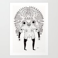 All Hail Art Print
