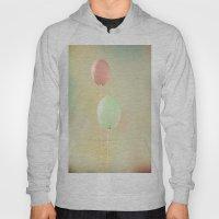 Balloons In Tie-Dyed Sky Hoody
