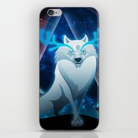 The wonder wolf iPhone & iPod Skin