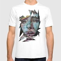 Melancholy Mens Fitted Tee White SMALL