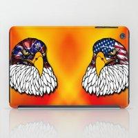 Confederate and Union Eagles iPad Case