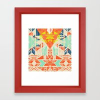 Nomad Dawn Framed Art Print