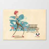 Yummy Mummy Canvas Print