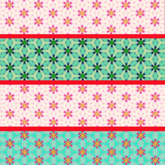 strip pattern Art Print