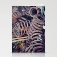Rust 7 Stationery Cards