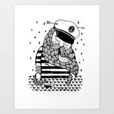 Amour éternel. Art Print