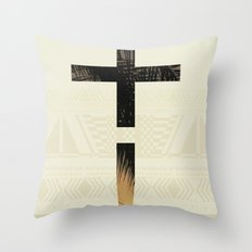 Aztec+ ! Throw Pillow