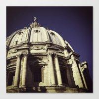 Canvas Print featuring St. Peter's Basilica by Rachel Logan