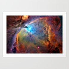 Orion Nebula Art Print