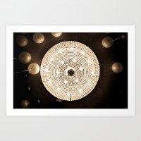 Party Lights Art Print