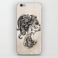 Day of the Dead Girl iPhone & iPod Skin