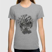 The Original Sin Womens Fitted Tee Athletic Grey SMALL