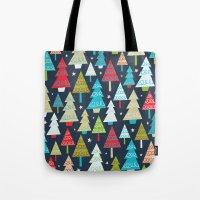 Christmas Trees Tote Bag