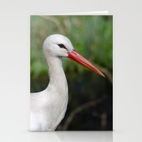 White stork Stationery Cards