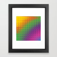Color Check!  Framed Art Print