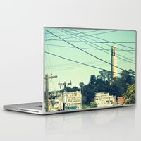 san francisco Laptop & iPad Skins featuring San Francisco by Mr and Mrs Quirynen
