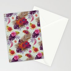 TROPICAL FLORAL PASSION Stationery Cards