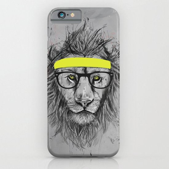 hipster lion iPhone & iPod Case