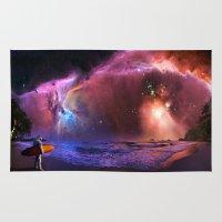 Space Surfer Rug