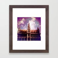 Brussels Framed Art Print