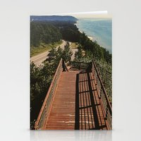 Lake Michigan Overview -… Stationery Cards