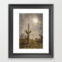 Saguaro Framed Art Print