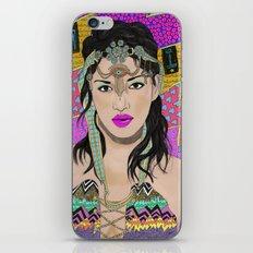 Bad Girl iPhone & iPod Skin