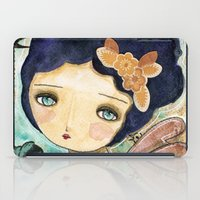 Charity Wings Watercolor Collage iPad Case