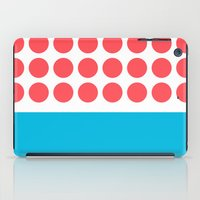 Forty Red Dots Over The … iPad Case