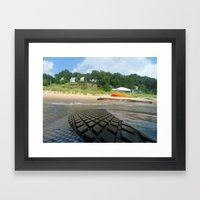 Surf Time Framed Art Print