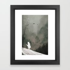 Buka - God of Winter Framed Art Print