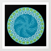 Mandala 23 - 2014 Limite… Art Print
