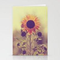 Sunflower 01 Stationery Cards